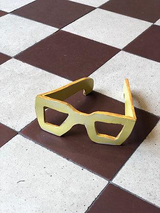 FOKUS glasses yellow