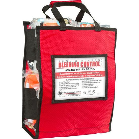 Public Access Bleeding Control 8-Pack - Vacuum Sealed
