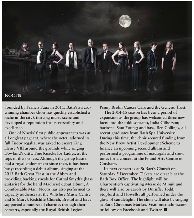 The Bath Magazine Noctis Choir