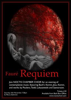 Faure Requiem Noctis Chamber Choir