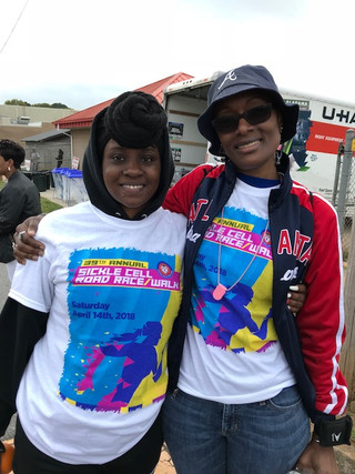 Sickle Cell Race/Walk Volunteer with Shondella
