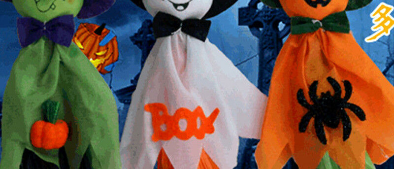 Halloween Fantasma Colgante Decoraciones Fiesta De Interior/Exterior Decoración