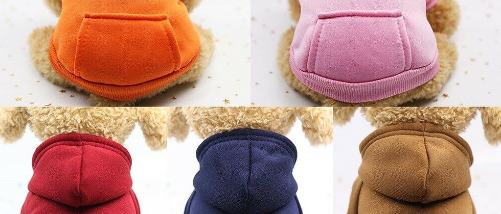Mascota Perro Gato Cachorro Suéter Abrigo Con Capucha Para Disfraz De Pequeña Ma