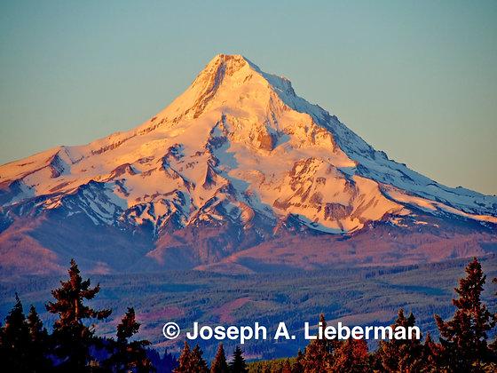 Mt. Hood, Oregon, at sunrise