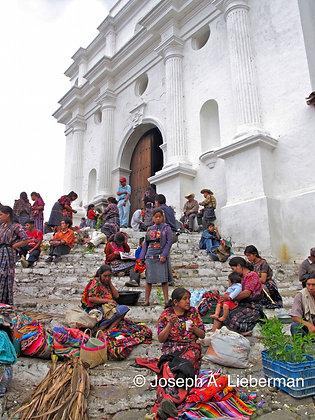 Guatemala, Comalapa market church