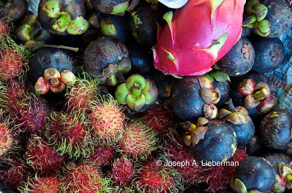 Fruit in Floating Market, Thailand
