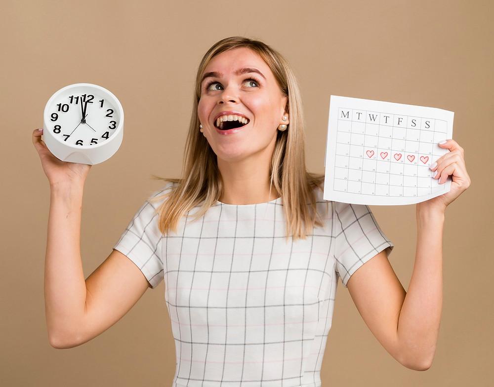 Menstruációs ciklus szabályozása természetes módon