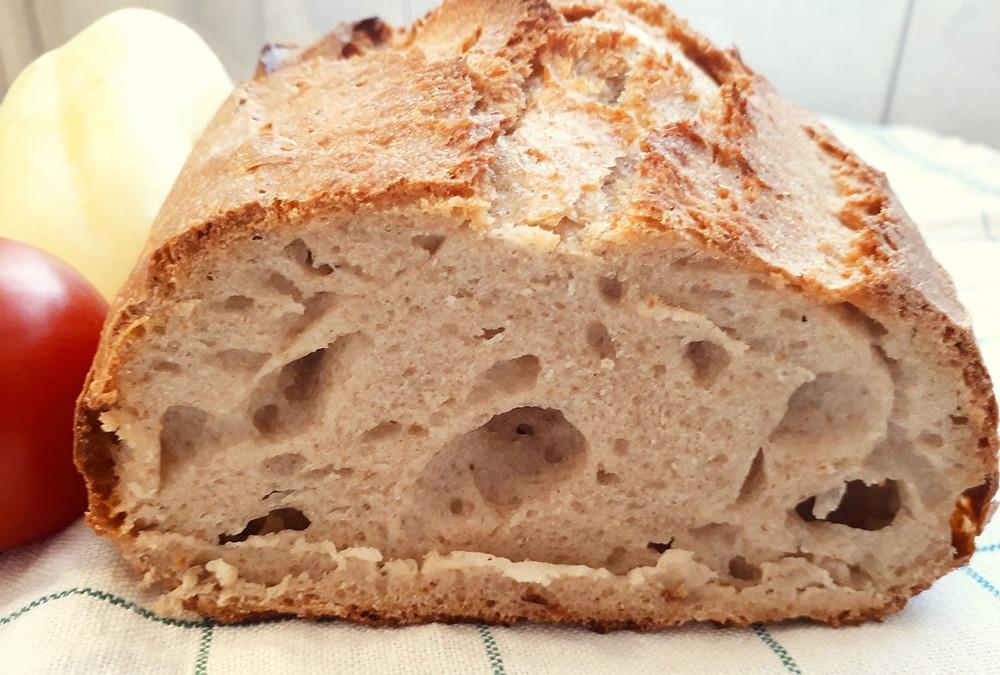 Kovászos kenyér recept: A kovásszal, fehér lisztből készült kenyér kedvező hatása a bélflórára