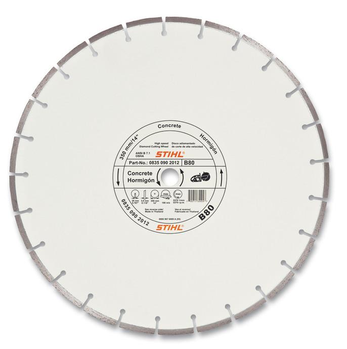 "TS Wheel B-80 14"" Diamond Concrete"