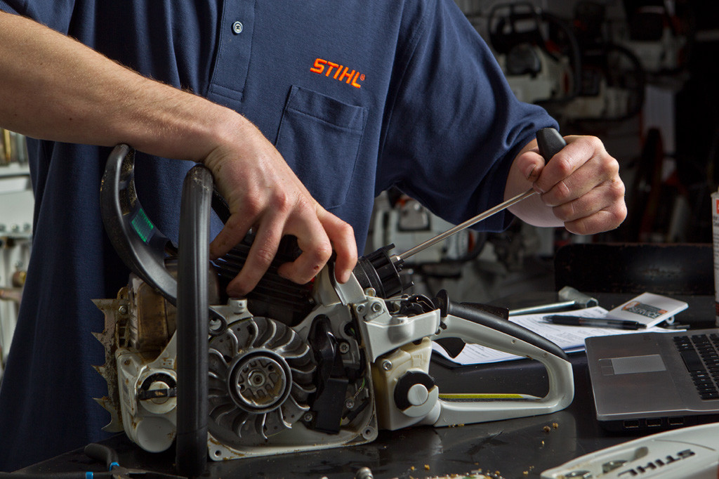 Image, stihl chainsaw repair service