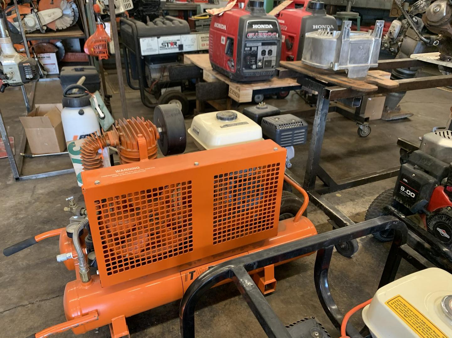 Image, small engine repair service