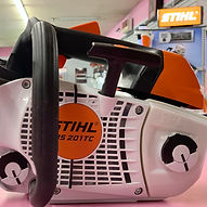 STIHL MS201T chainsaw without protection
