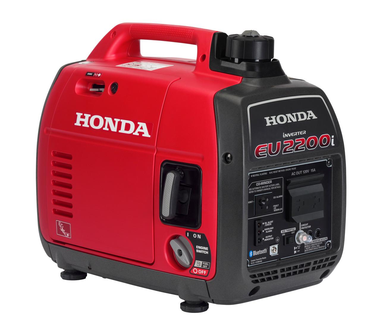 Honda EU2200i Generator with CO-Minder & Bluetooth