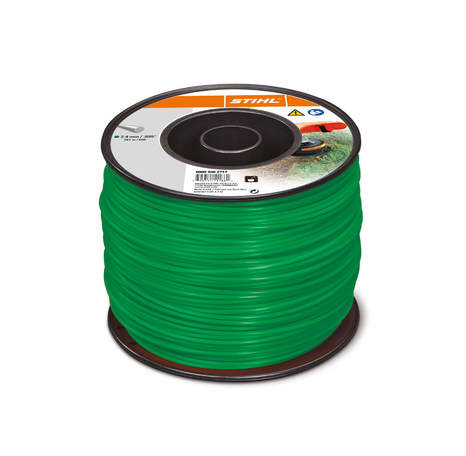 Commercial Round Trimmer Line Green