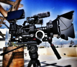 One of our fully rigged Sony FS7