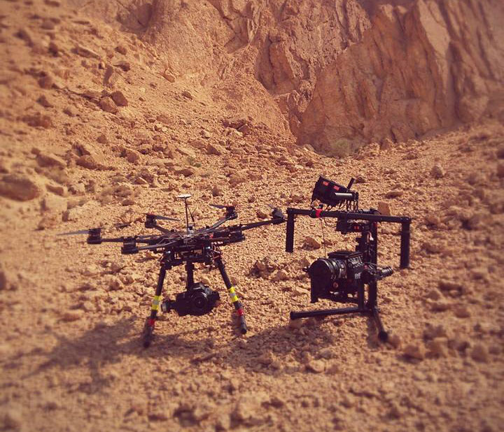 Movi M10 with a Dji S900