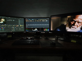 Final color grading touches