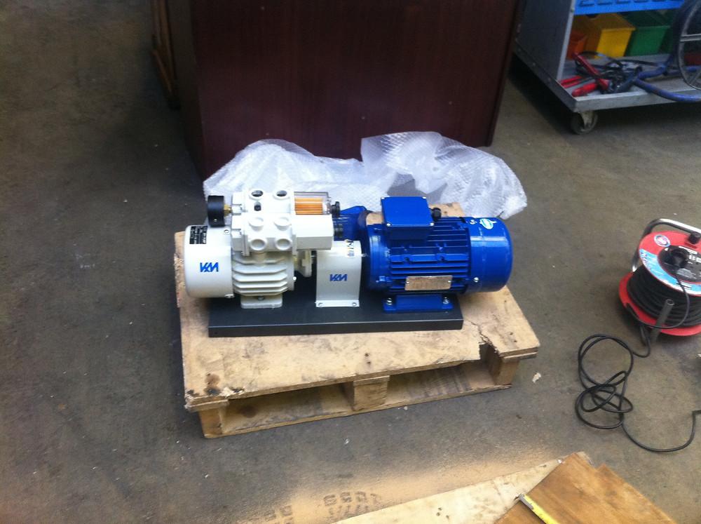 My first total rebuilt pump