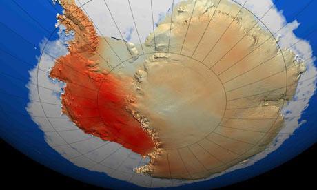 Il fatto che il ritiro dei ghiacci stia avvenendo simultaneamente in un largo settoreindica che e' stato scatenato da una causa comune, ovvero un aumento del calore dell'oceano sotto le porzioni galleggianti dei ghiacciai. A questo punto la scomparsa di questo settore appare inevitabile