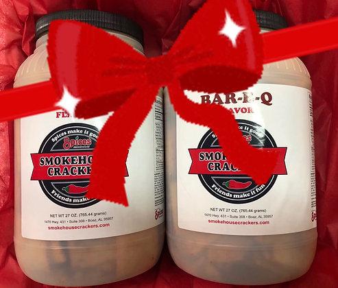 Smokehouse Crackers Party Tub Gift Set