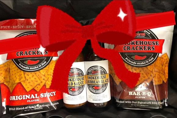 Smokehouse Crackers & Sauce Gift Set