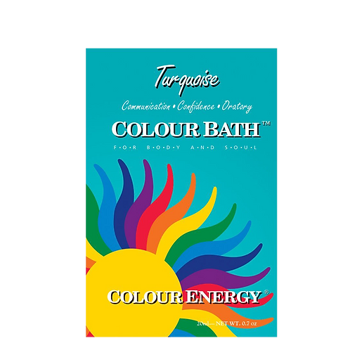 Turquoise Colour Bath