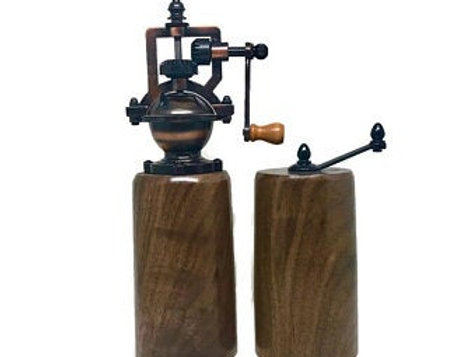 Rosewell Pepper & Salt Grinder – Walnut (Cylinder)