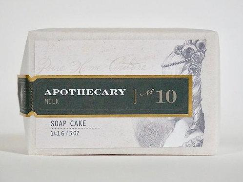 Apothecary Milk Soap Cake