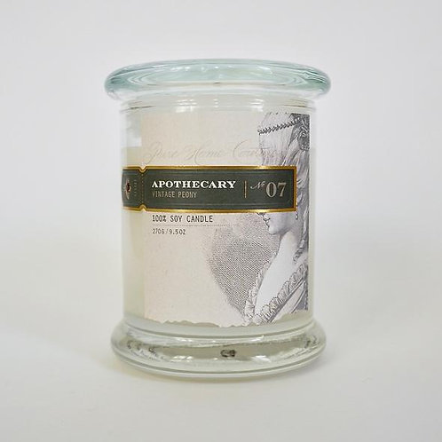 Vintage Peony Everyday Candle