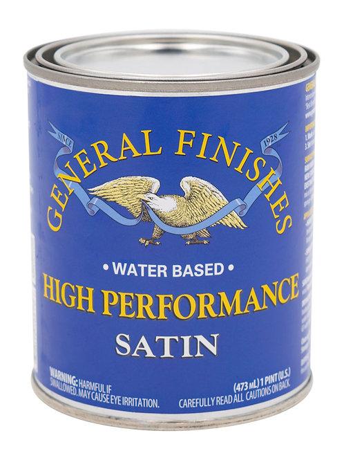 High Performance Top Coat - Satin