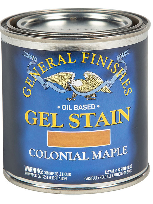Colonial Maple Gel Stain