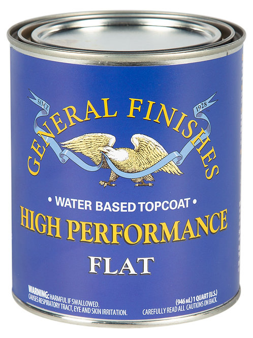 High Performance Top Coat- Flat