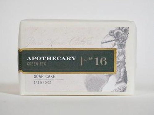 Apothecary Green Fig Soap Cake