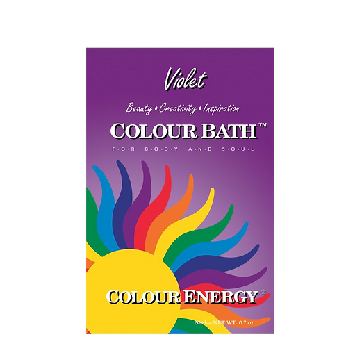 Violet Colour Bath