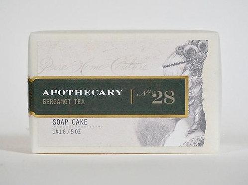 Apothecary Bergamot Soap Cake