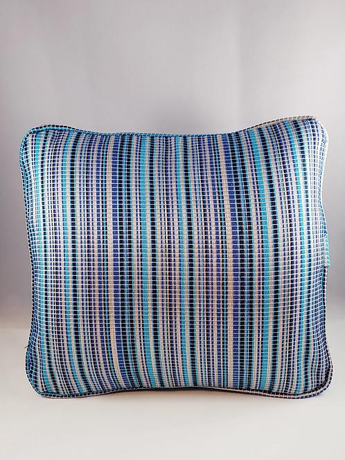 Comfee Cushion Light Blue striped