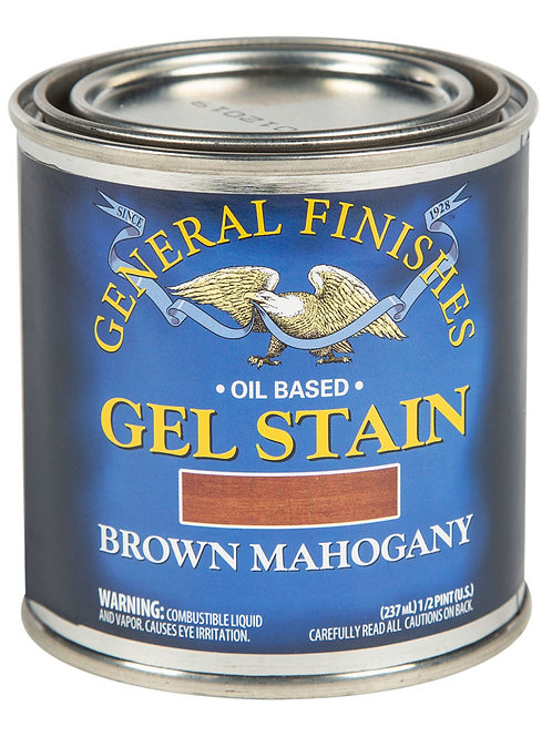 Brown Mahogany Gel Stain