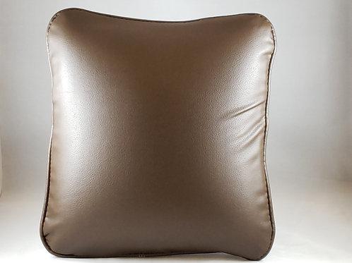Comfee Cushion Brown Pleather