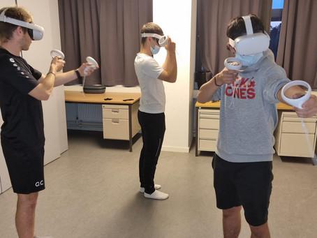 Opnieuw VR plezier