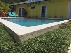 Poolside...