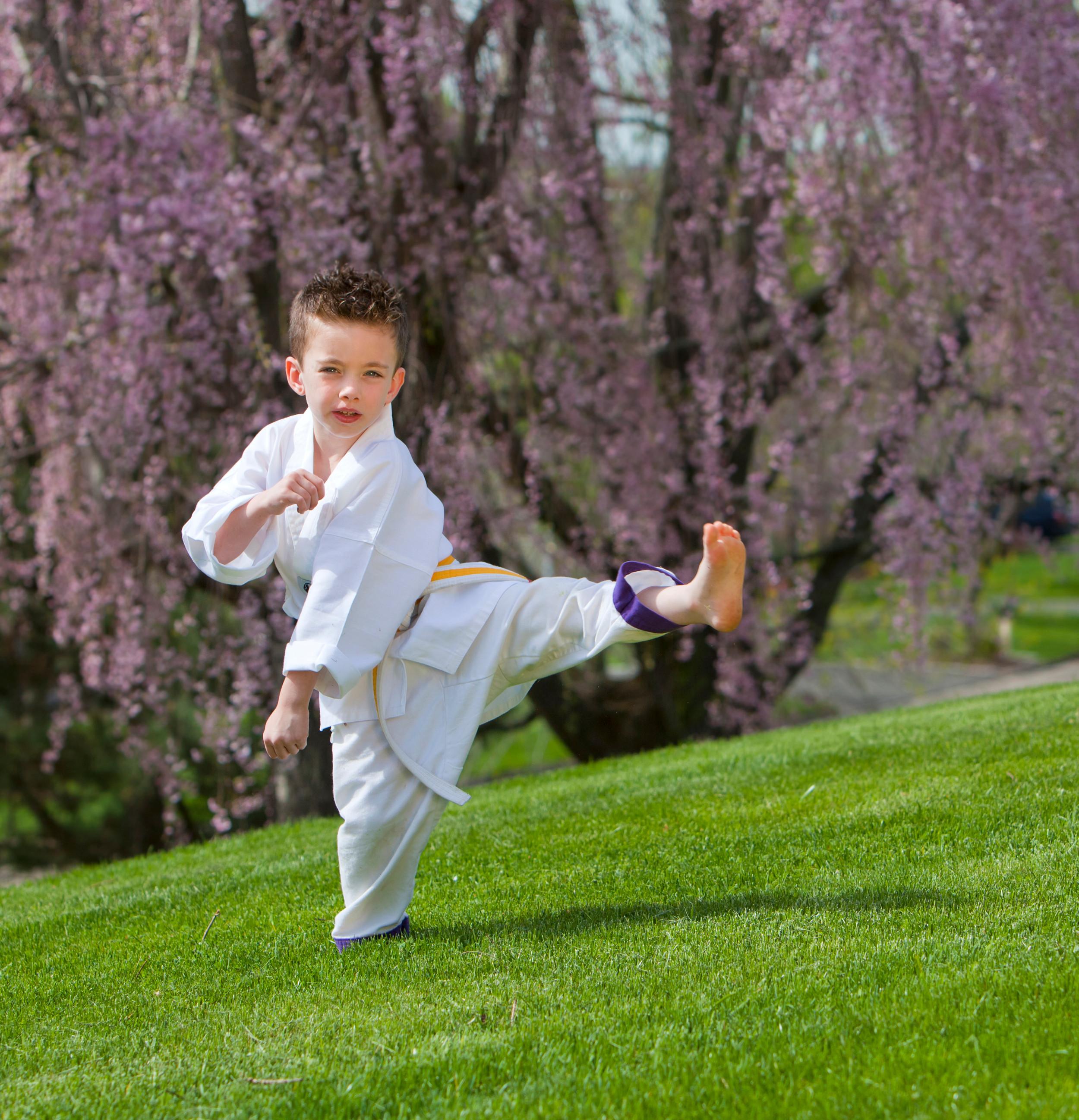 Kids Outdoor Karate 6-12