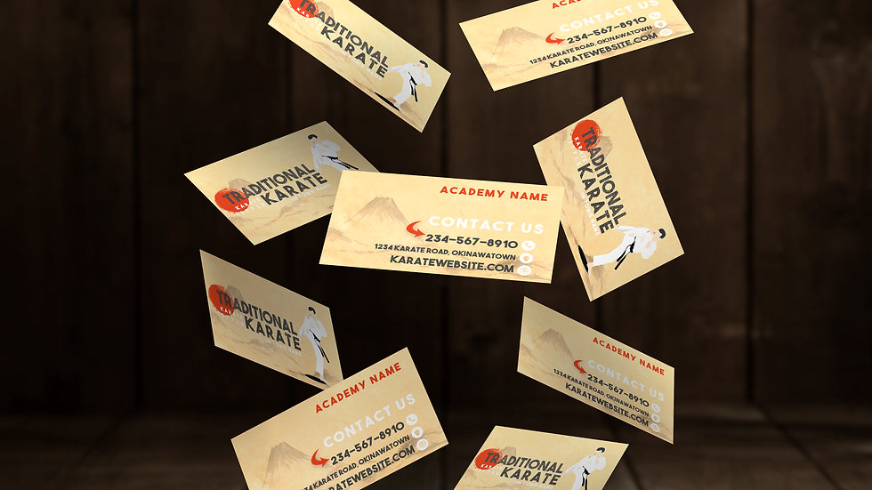 "Business Cards in ""Traditional"""