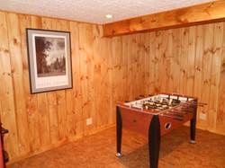 Bethel Chalet game room