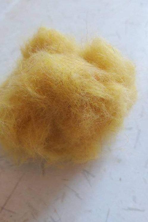 Dubbing de lapin jaune pâle
