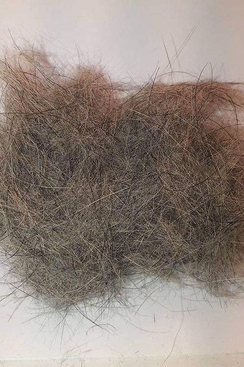 Dubbing de lapin naturel poil long