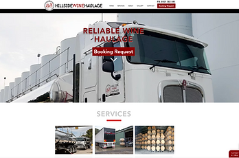 Hillside Haulage Website SS.png