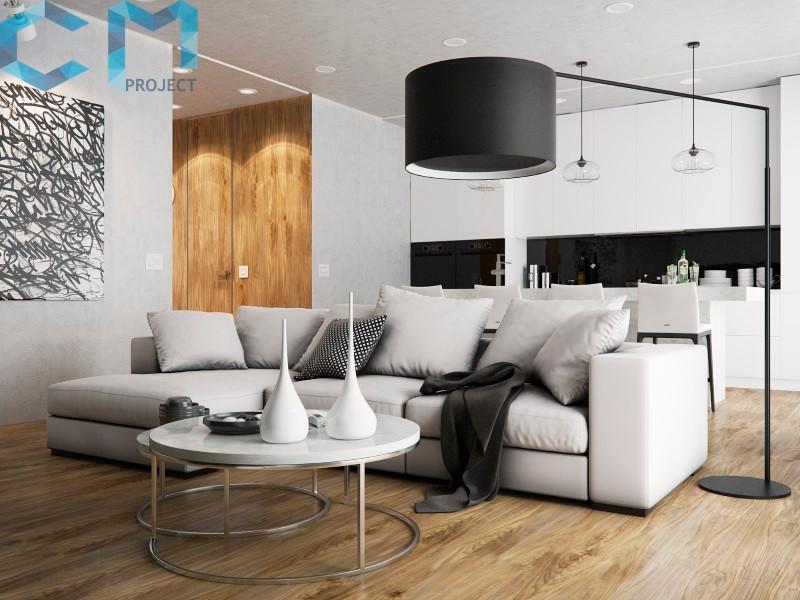 Дизайн-проект квартиры в ЖК Ривер Парк