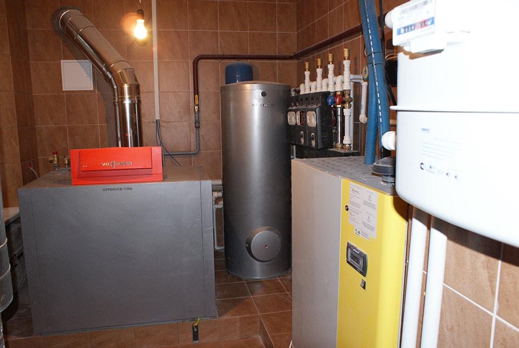 Разводка отопления в коттедже