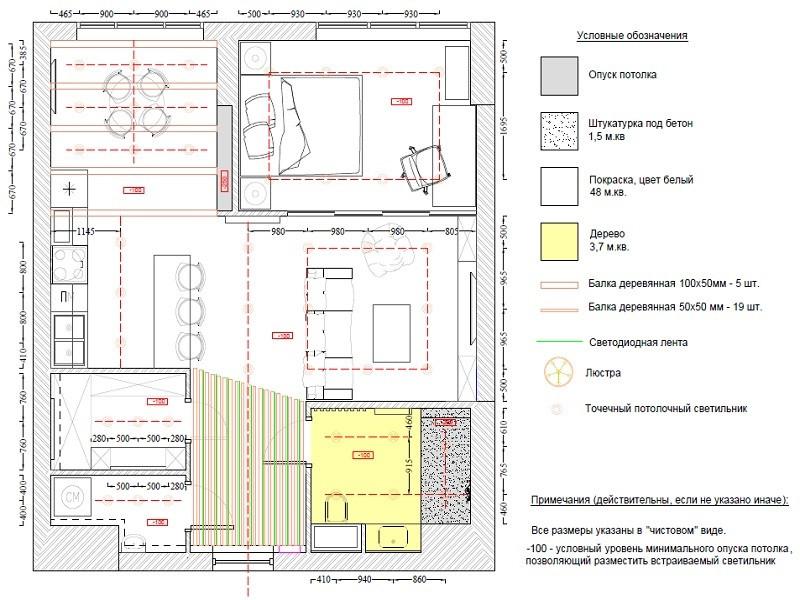 Технический проект по ремонту квартиры в ЖК Ривер Парк