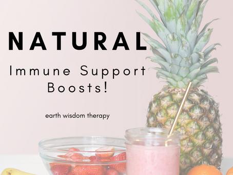 Immune Boosts!